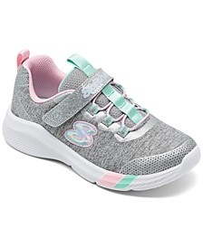 Little Girls Dreamy Lights Stay-Put Closure Casual Sneakers from Finish Line