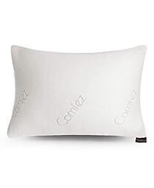 Shredded Memory Foam Bamboo Pillow - Adjustable Thickness - Standard