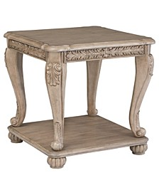 Kerston Traditional Square End Table