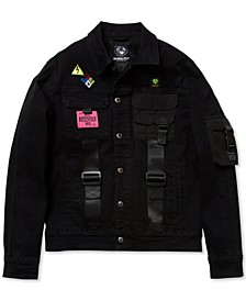 Men's Big & Tall Slim-Fit No Retreat Denim Jacket