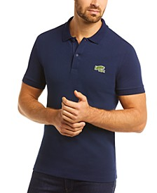 Men's Regular-Fit Piqué Solid Polo Shirt, Created for Macy's