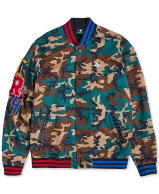 LRG mens Varsity Jacket Varsity Jacket