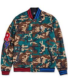 Men's Camo Varsity Jacket