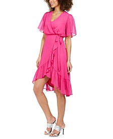 High-Low Chiffon Dress