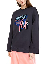 Graphic-Print Sweatshirt