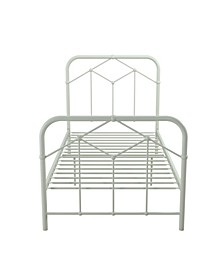 Francis Farmhouse Metal Bed, Twin