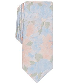 Men's Mayfield Skinny Floral Tie, Created for Macy's