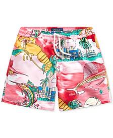 Toddler Boys Captiva Lobster Swim Trunks