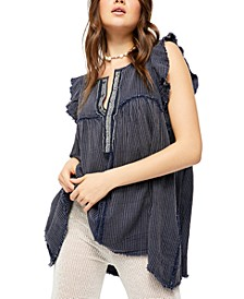 Blue Ridge Indigo Top