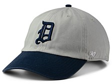 Detroit Tigers Cooperstown CLEAN UP Cap