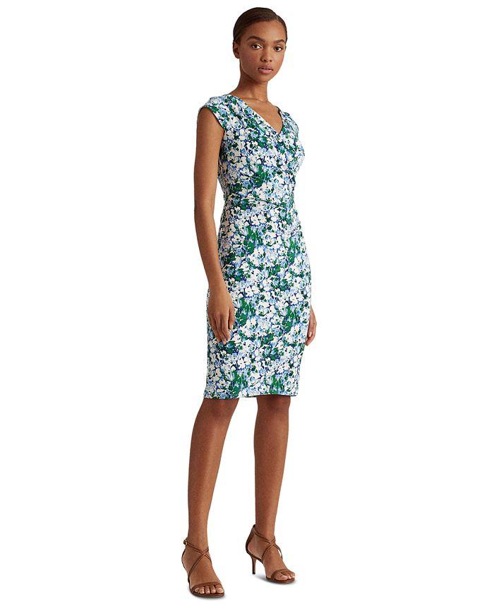 Lauren Ralph Lauren - Floral Jersey Dress