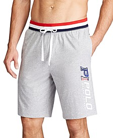 Men's Cotton Interlock Sleep Shorts, Created for Macy's