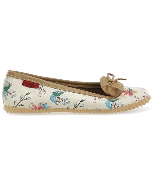 Chooka Women's Tropics Ballet Flat Water- resistant Skimmer Shoe