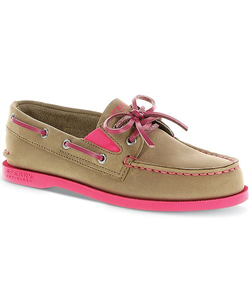 Sperry Little Girls' A/O Boat Shoes