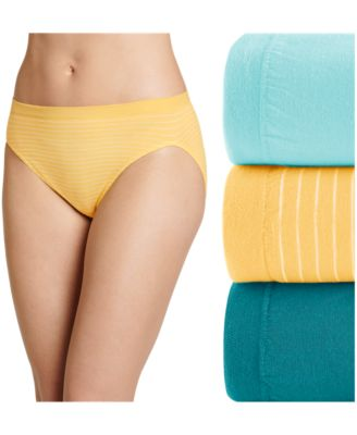 JOCKEY 7 Comfies Cotton French Cut Ivory Underwear Classic Fit Panties 1 pr