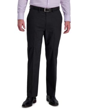 Men's Classic-Fit 4-Way Stretch Textured Grid Performance Dress Pants