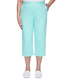 Spring Lake Pull-On Stretch Capris