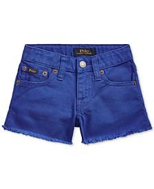 폴로 랄프로렌 여아용 반바지 Polo Ralph Lauren Little Girls Polo Cotton Denim Shorts