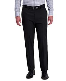 J.M. Men's Classic-Fit 4-Way Stretch Diamond-Weave Performance Dress Pants