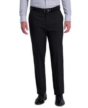 Men's Classic-Fit 4-Way Stretch Diamond-Weave Performance Dress Pants