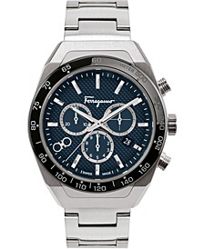 Men's Swiss SLX Chronograph Stainless Steel Bracelet Watch 43mm