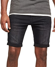 Men's 3301 Slim-Fit Denim Shorts, Created for Macy's