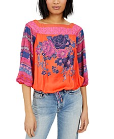 Blue Nile Printed Top