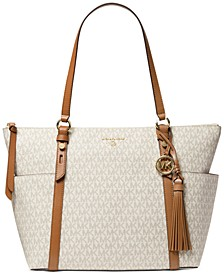 Signature Nomad Large Top Zip Tote