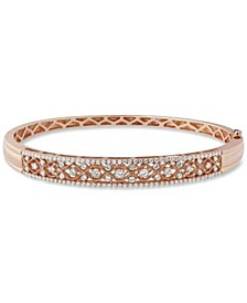 Diamond Bangle Bracelet (1-1/4 ct. t.w.) in 14k Rose Gold