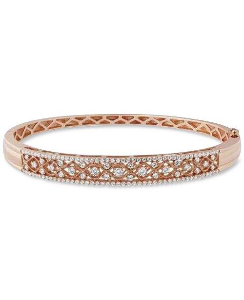 Diamond Bangle Bracelet 1 4 Ct T W