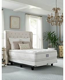 "Classic by Shifman Alexandra 16"" Luxury Plush Box Top Mattress Set - California King, Created for Macy's"