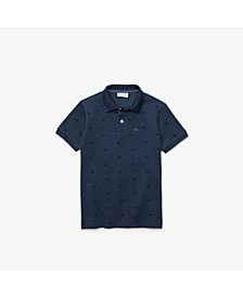 Big Boys Short Sleeve Petit Pique Polo Shirt