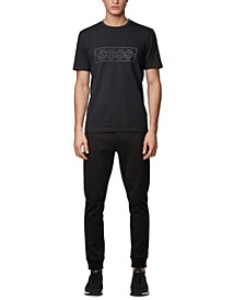 BOSS Men's Tee Logo Stretch-Cotton T-Shirt