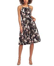 Paulette Printed Dress