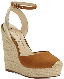 Zestah Wedge Sandals