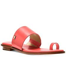 August Flat Sandals