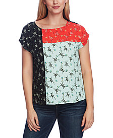 Vince Camuto Bouquet Refresh Colorblock Top