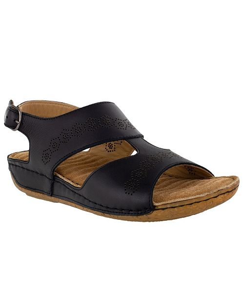 Easy Street Sloane Leather Sandals