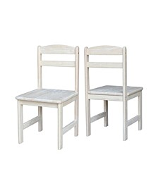 Juvenile Chairs, Set of 2