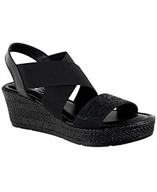 Easy Street Ysabelle Wedge Sandals