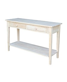 Spencer Console Server Table