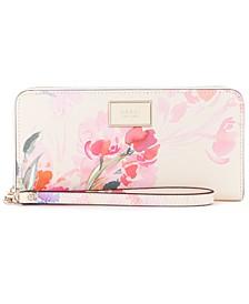 Pish Posh Floral Zip Wallet