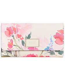 Pish Posh Floral Slim Clutch Wallet