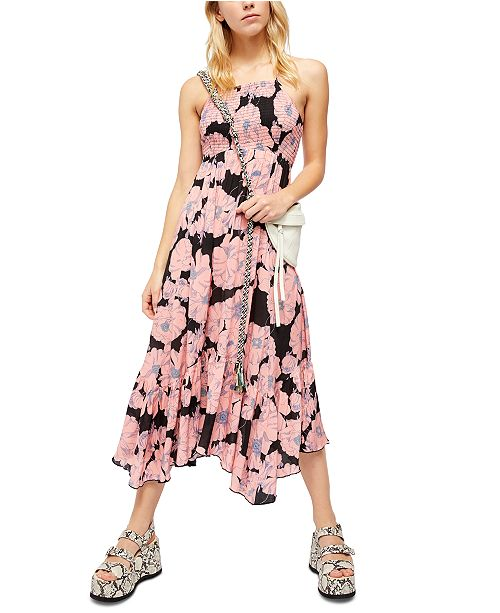 Free People Heatwave Printed Maxi Dress