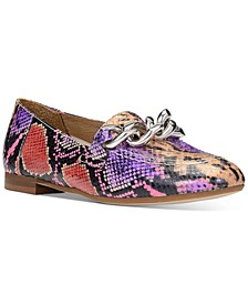 Nolin Chain Loafer Flats