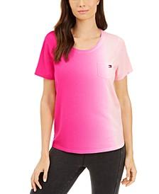 Scoop-Neck Ombré T-Shirt