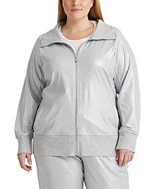 Lauren Ralph Lauren Plus-Size Turtleneck Jacket