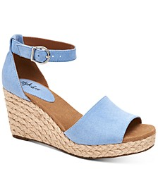 Seleeney Wedge Sandals, Created for Macy's