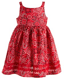Baby Girls Red Handkerchief Dress