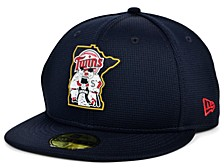 Kids Minnesota Twins 2020 Clubhouse 59FIFTY-FITTED Cap